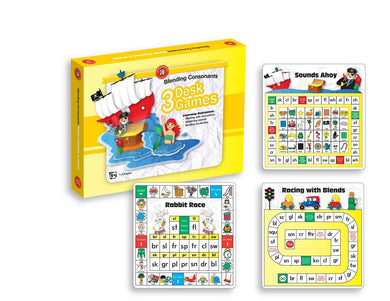 Blending Consonants Set of 3 Desk Games