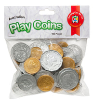 Load image into Gallery viewer, Australian Play Coins 106pcs