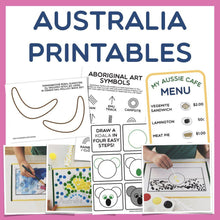 Load image into Gallery viewer, Australia Day Printables