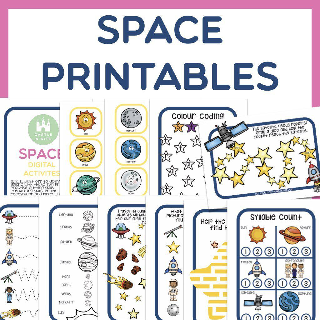 Space Printables Pack