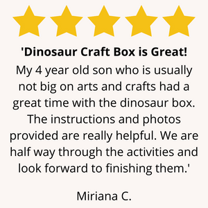Dinosaur Craft Box