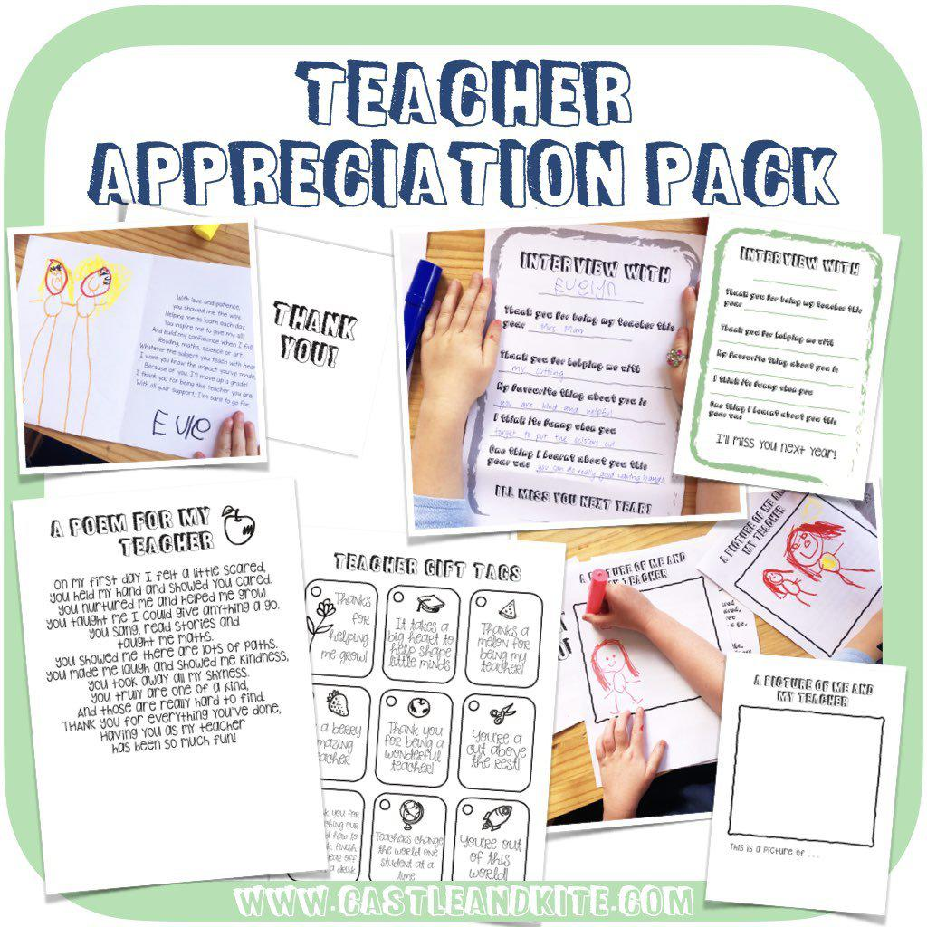 Teacher Appreciation Pack