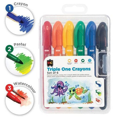 Triple One Crayons