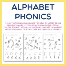 Load image into Gallery viewer, Alphabet Phonics - Letter Sounds and Formation