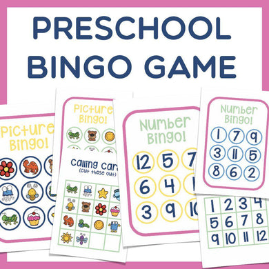 Preschool BINGO Game
