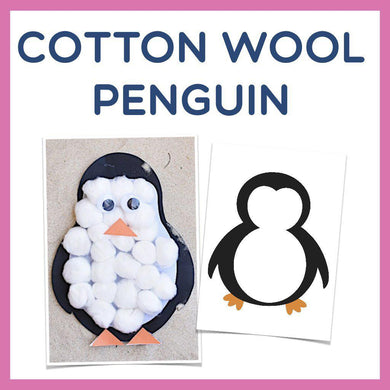 Cottonball Penguin