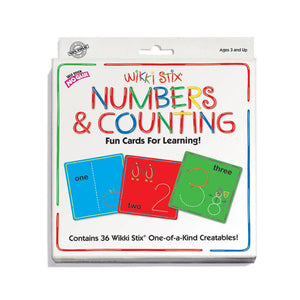Numbers & Counting Wikki Stix
