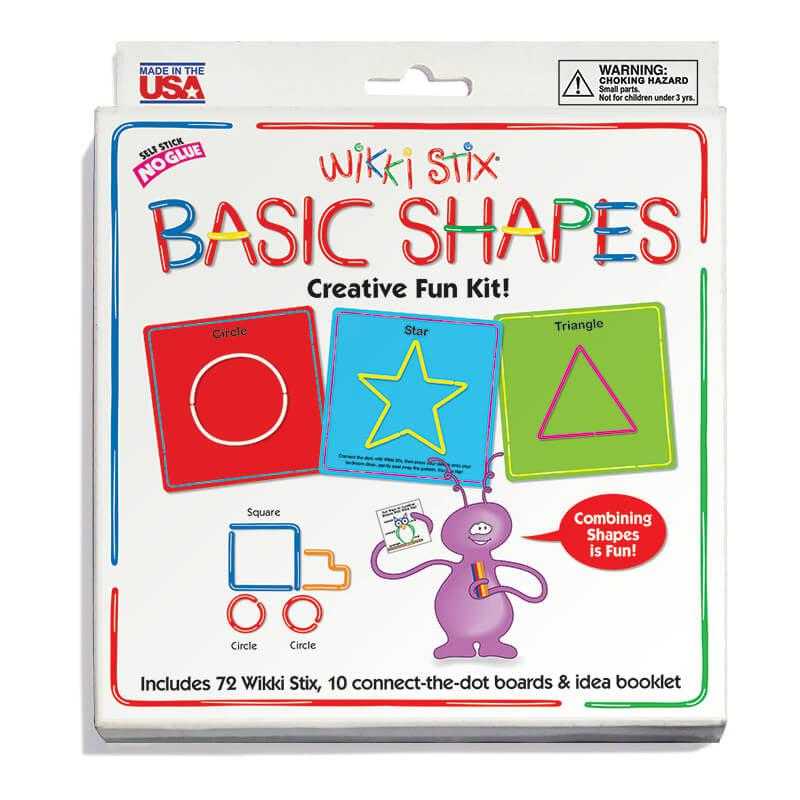 Basic Shapes Wikki Stix