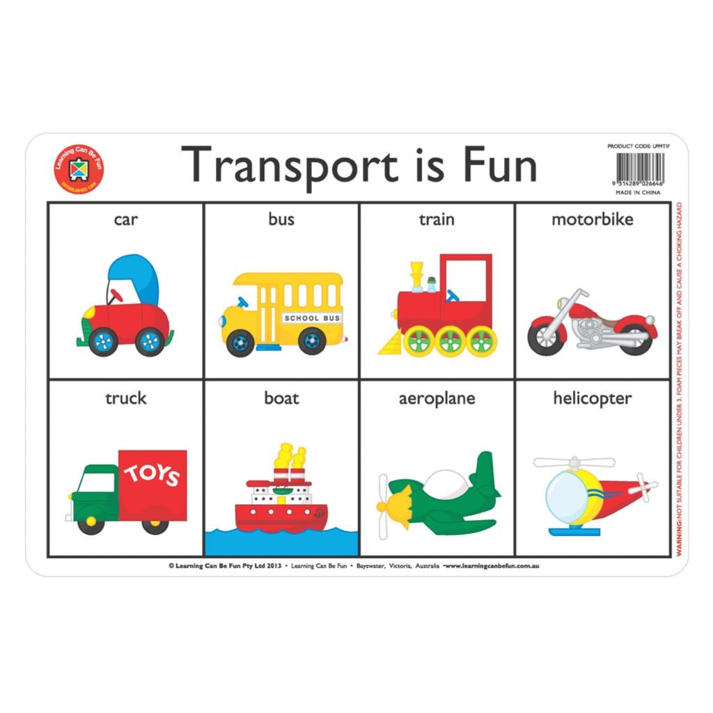 Transport Placemat