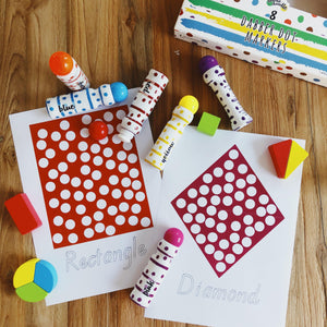 Shapes - Dot Marker Printables