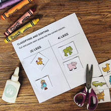 Load image into Gallery viewer, Preschool Basics Printables