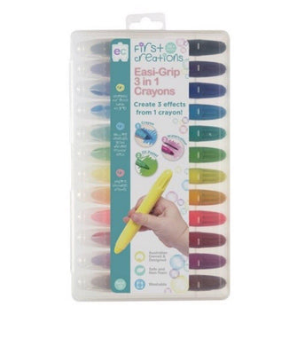 Easi-Grip 3 in 1 Crayons