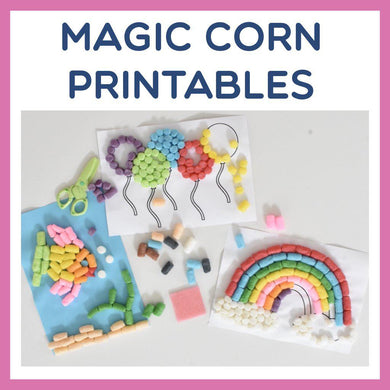 Magic Corn Printables