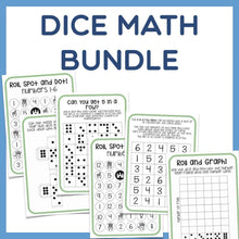 Load image into Gallery viewer, Math Bundle - Fun with Dice