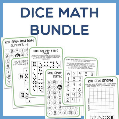 Math Bundle - Fun with Dice