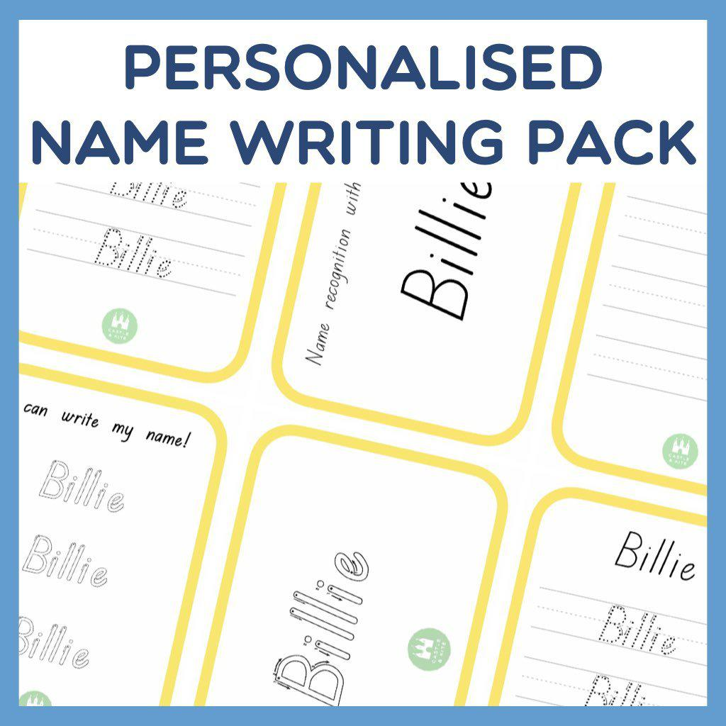 Personalised Name Writing Pack (Digital)
