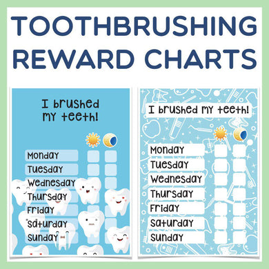 Toothbrushing Reward Chart