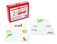 Literacy Bingo Game Easy Words To Sound