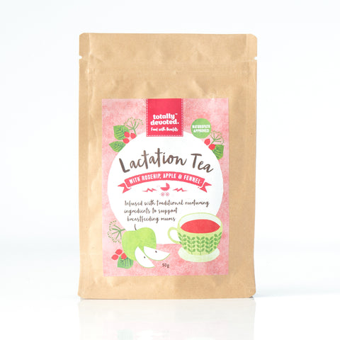 Lactation Tea with Rosehip, Apple & Fennel