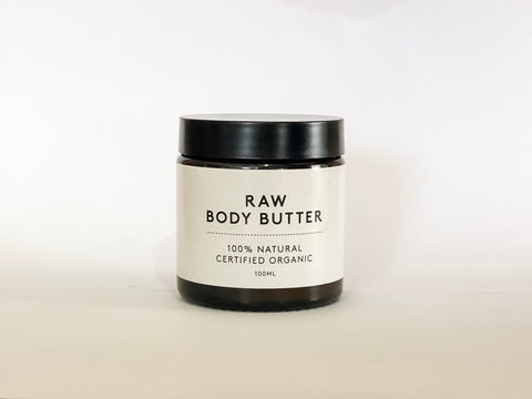 Raw Organic Body Butter