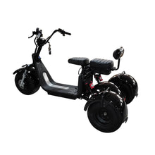 eDrift Fat Grizzly-Fat Tires 3-wheel Electric Trike Scooter Moped Harley E-Bike