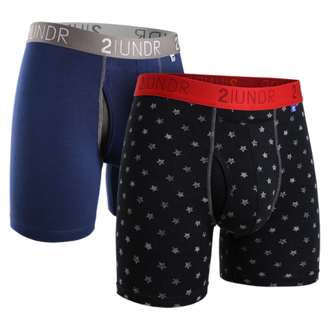 2 UNDR Swing Shift Boxer - 2 Pack