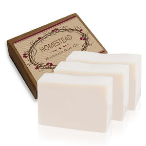 Three Bars Organic Coconut Oil Soap