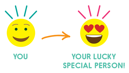 send an AURAGRAM to your special person! @ AURA LUVR