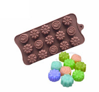 Diy Silicone Bakeware Stable 15 Holes Round Silicone Chocolate Mold Jelly Pudding Mold Silicone Ice Cube - Cdsm229