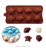 Diy Silicone Bakeware Stable 15 Holes Round Silicone Chocolate Mold Jelly Pudding Mold Silicone Ice Cube - Sicm 008 11