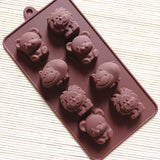 Diy Silicone Bakeware Stable 15 Holes Round Silicone Chocolate Mold Jelly Pudding Mold Silicone Ice Cube - Sicm 008 18