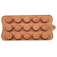 Diy Silicone Bakeware Stable 15 Holes Round Silicone Chocolate Mold Jelly Pudding Mold Silicone Ice Cube - Sicm 115 8