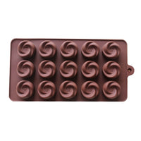 Diy Silicone Bakeware Stable 15 Holes Round Silicone Chocolate Mold Jelly Pudding Mold Silicone Ice Cube - Sicm 115 17