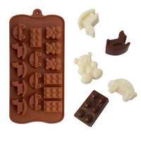 Diy Silicone Bakeware Stable 15 Holes Round Silicone Chocolate Mold Jelly Pudding Mold Silicone Ice Cube - Sicm 215 8