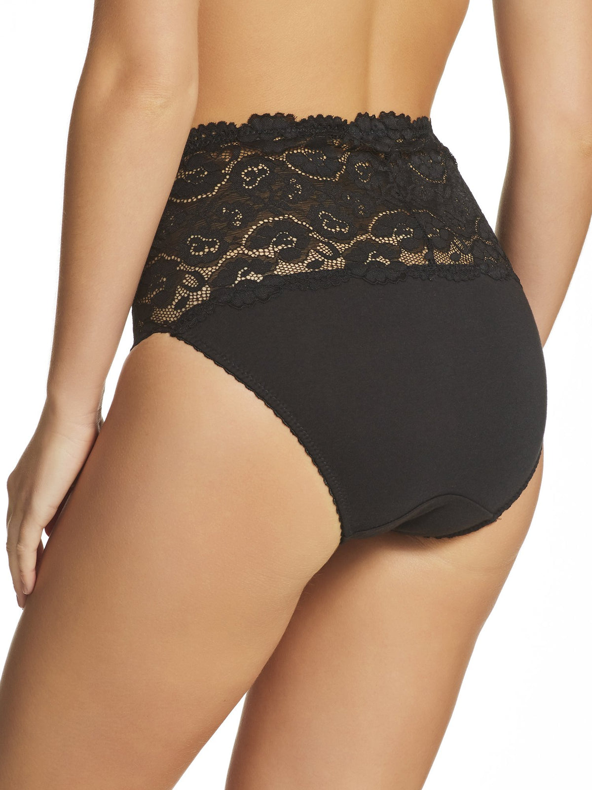 Daily Essentials Cotton & Lace Full Brief (465)