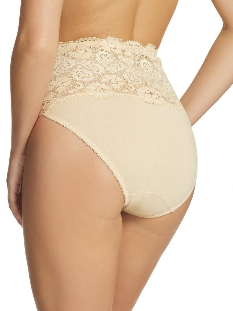 Cotton & Lace Full Brief (465)