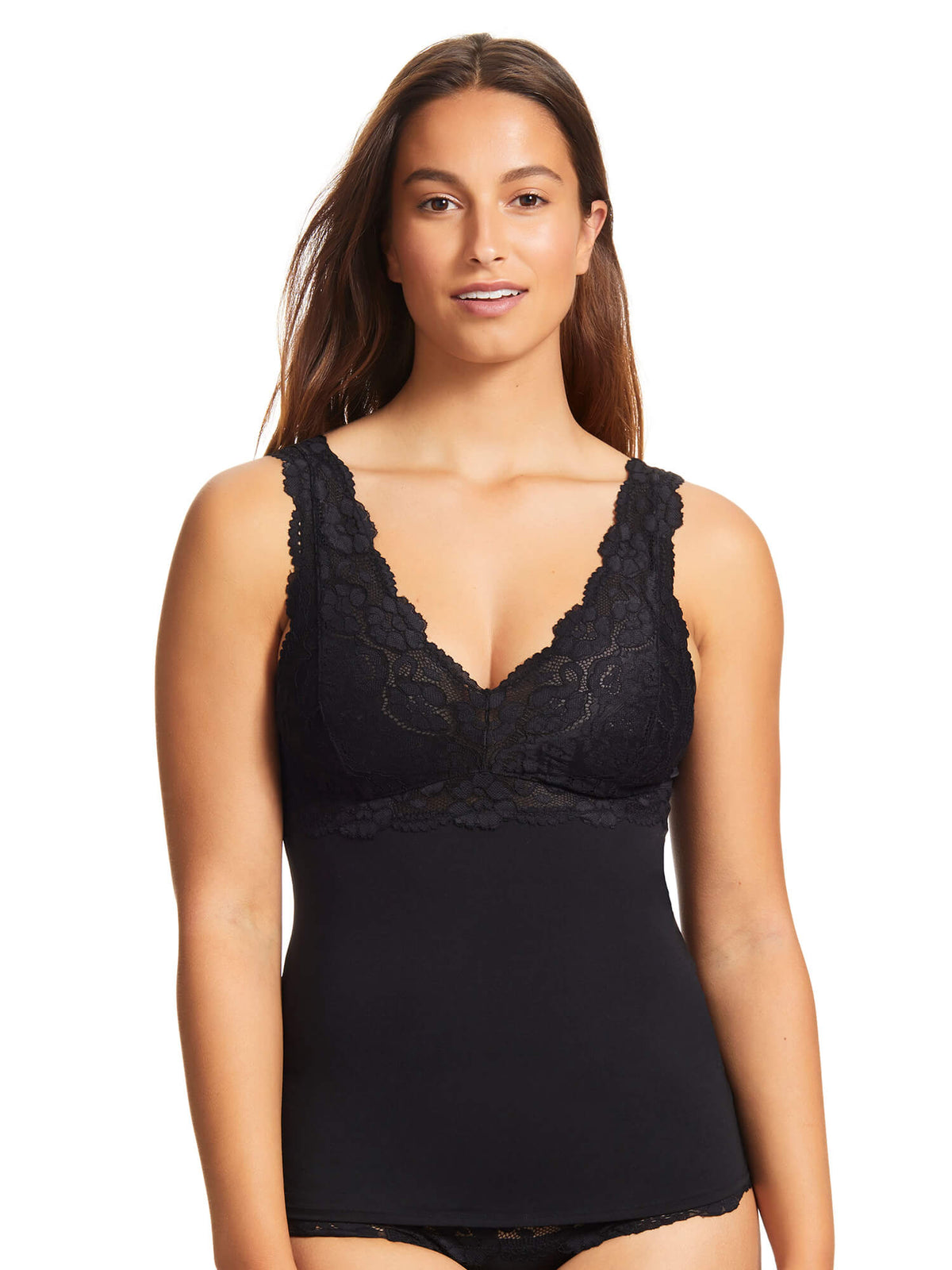 Daily Essentials Helen Micro & Lace Cami (465)