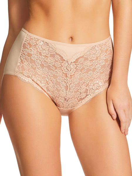 Micro & Lace Full Brief (465)