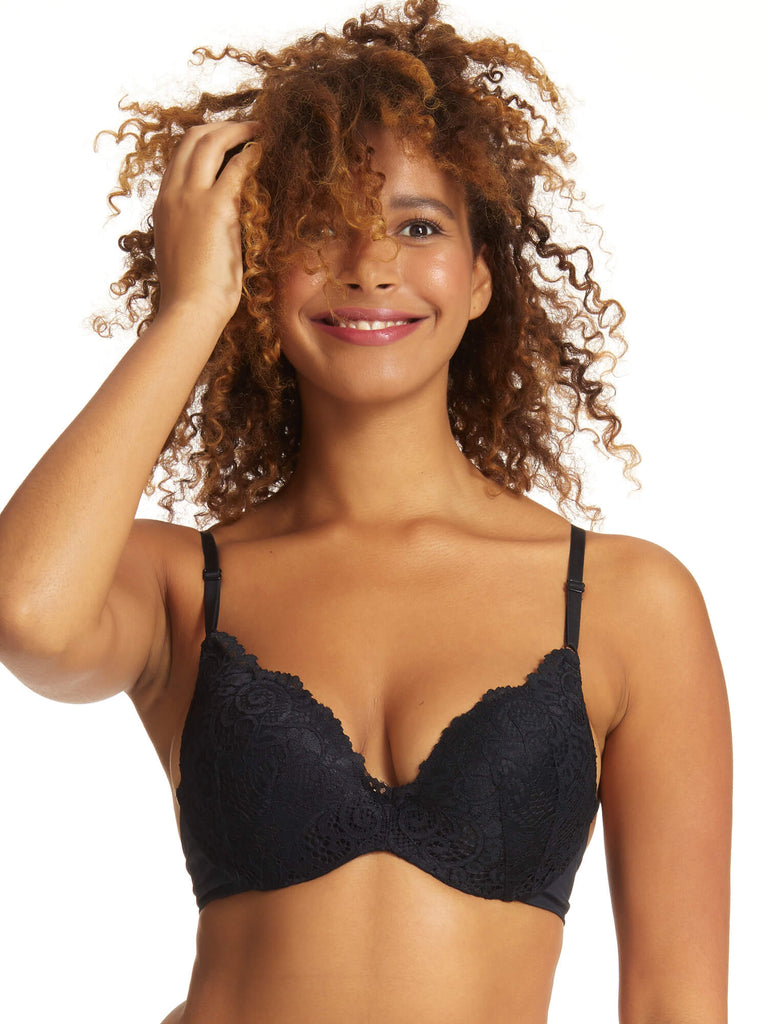 Be Real Lace Push Up Bra