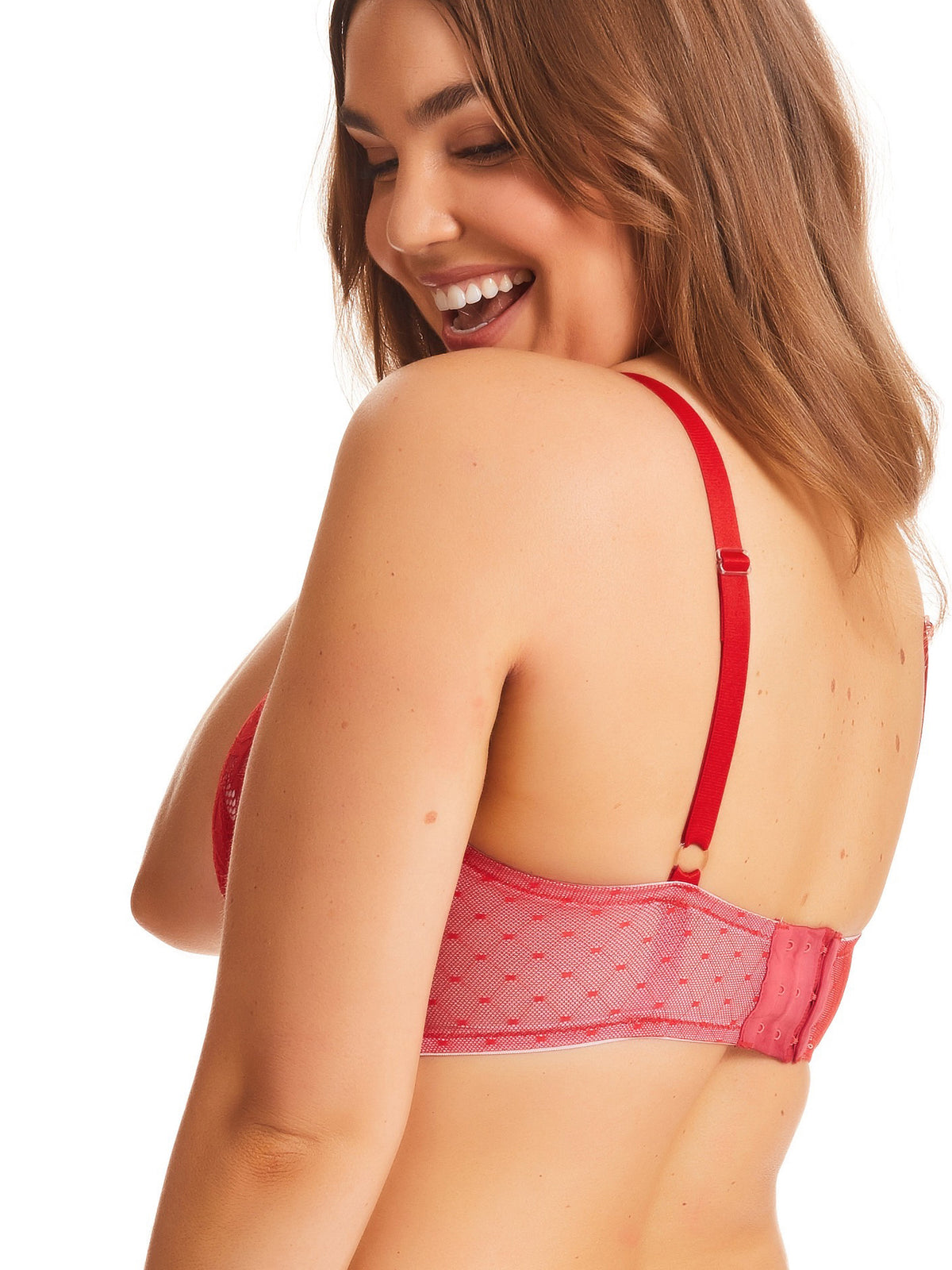 Curve It Up Stormy Long Line Bra