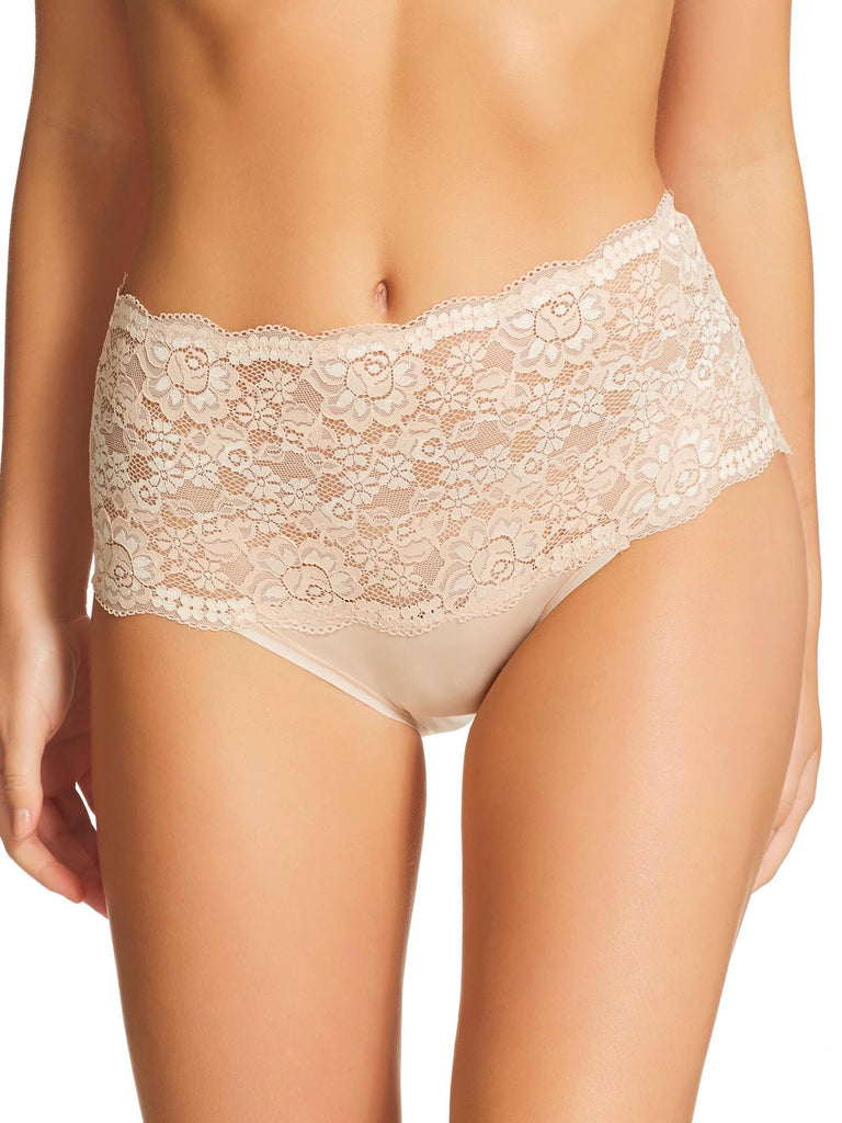 Micro & Lace Brief (465)