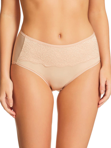 Daily Essentials Helen Micro Mid Rise Brief with Lace