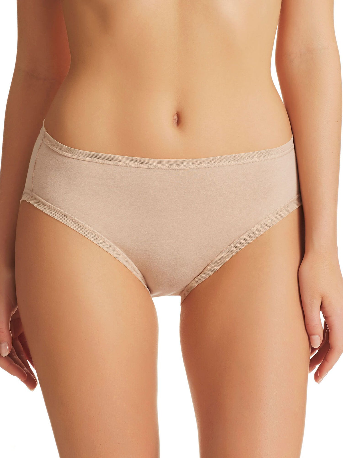 Pure Cotton High Cut Brief