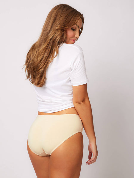 Daily Essentials Stretch Cotton & Lace Full Brief (219)
