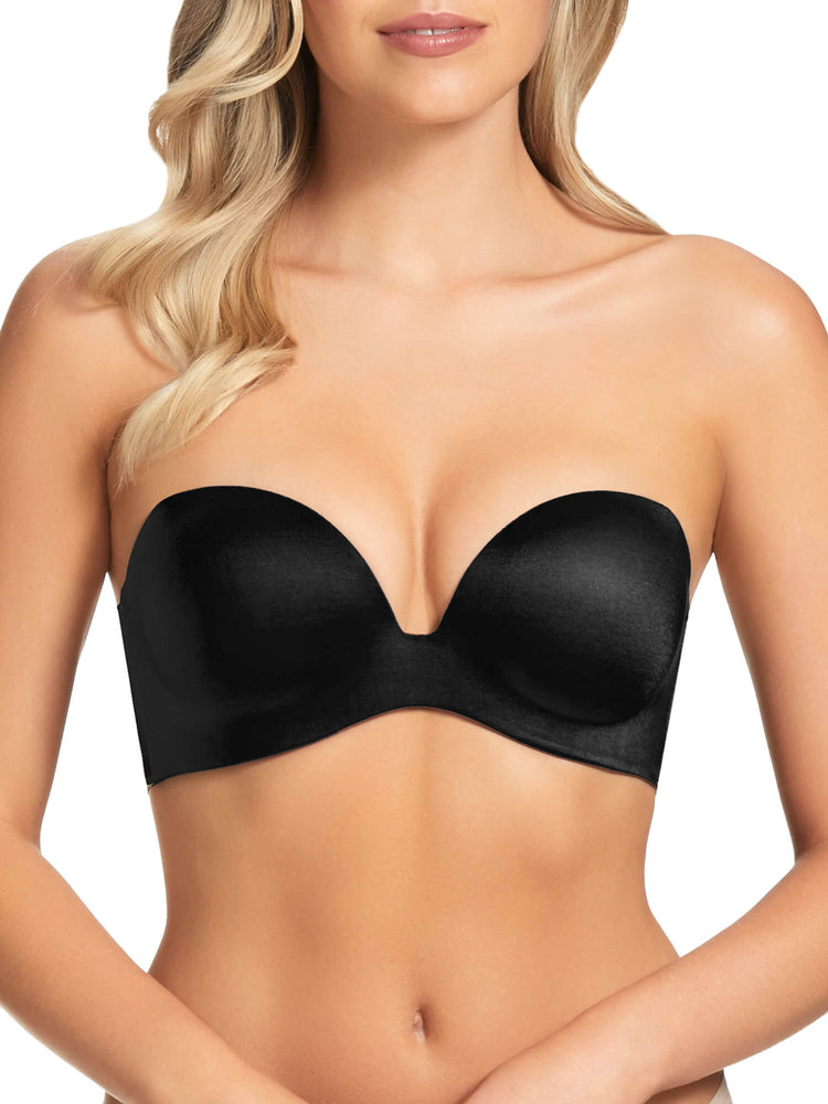 Memory Low Plunge Strapless Bra - MM017