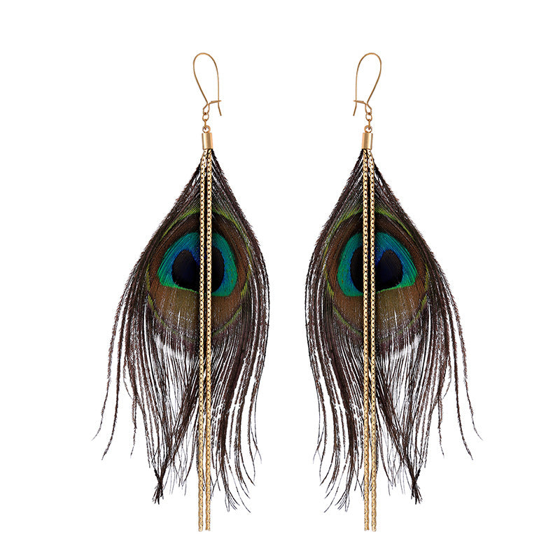 Airee Feather Earring