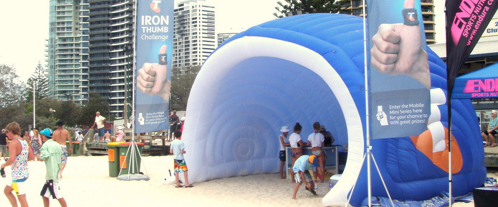 Inflatable shell