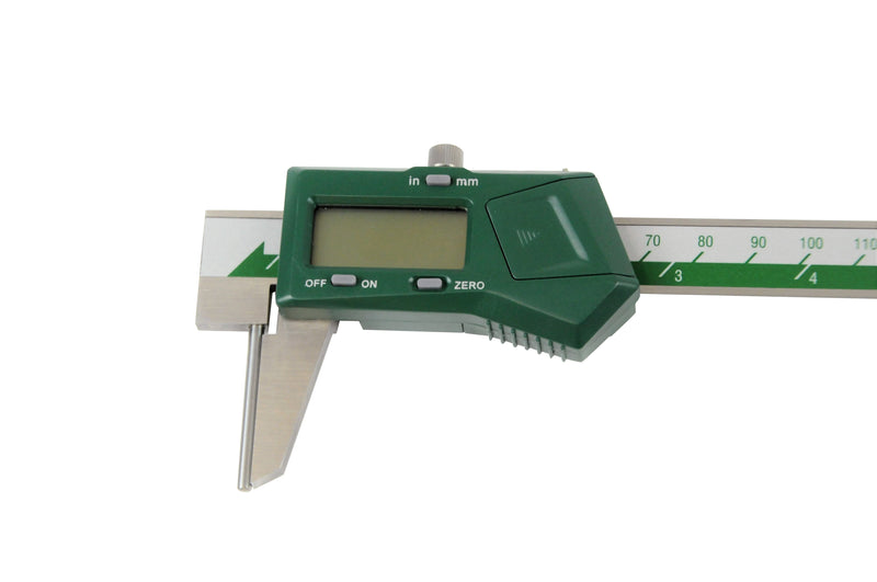 DIGITAL TUBE THICKNESS CALIPER - INSIZE 1161-150A 0-150mm / 0-6""