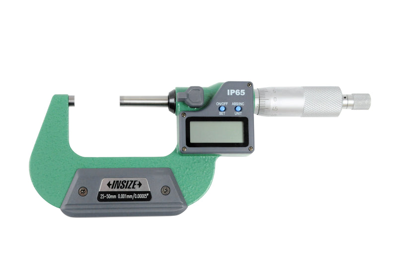 DIGITAL OUTSIDE MICROMETER - INSIZE 3108-50A 25-50mm