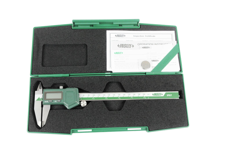 insize 1118-200B digital caliper in box